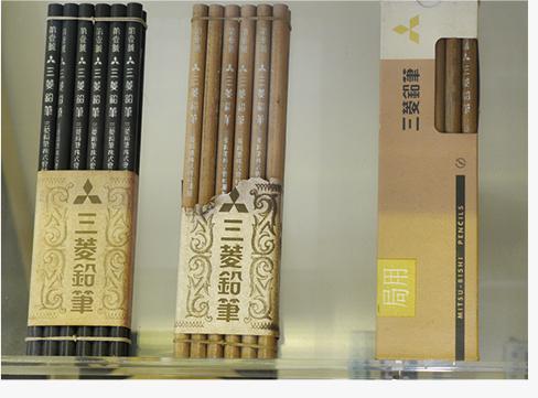 国産の鉛筆としては初の日本政府に採用された「局用鉛筆」